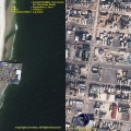 Hurricane Sandy Before and After courtesy of Satellite Imaging Corp.